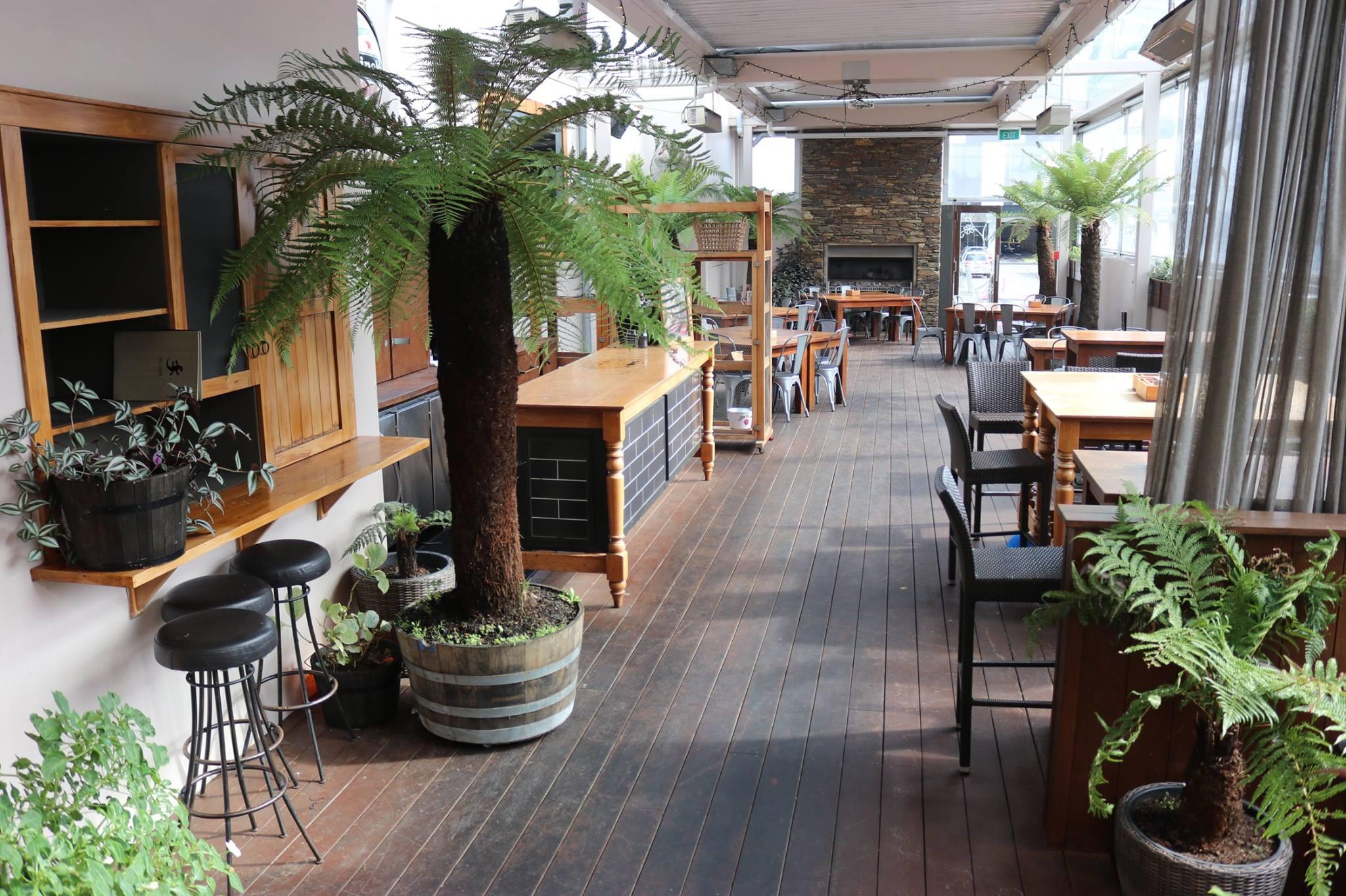 The Garden Bar at Iguana in Hamilton CBD